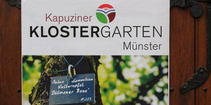 Klostergarten der Kapuziner eröffnet