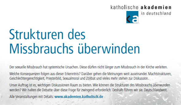 Julia Knop und Ulrich Engel OP bestreiten Podiumsdiskussion in Goslar