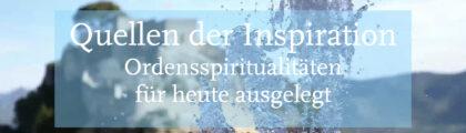 Ringvorlesung Ordensspiritualitäten: Die Spiritualität der Klarissen